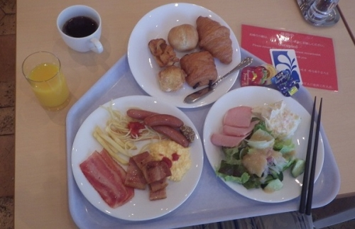 ハウステンボス朝ご飯