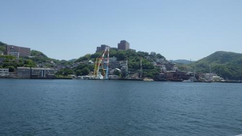軍艦島(端島)へ