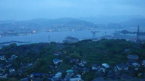 長崎は今日も雨だった