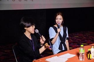 キムアジュンソウル国際女性映画祭トークショウ