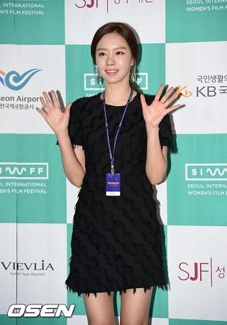 キムアジュンソウル国際女性映画祭開幕式05