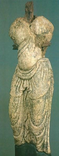 天福寺奥院・塑像菩薩形立像
