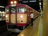 JR711系S-113編成 岩見沢駅にて