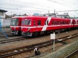 遠鉄1000形1005F 30形51F 西鹿島駅にて