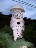 JR蟹田駅 灯台形時計台