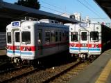 京成3300形3320F&3348F 金町駅にて