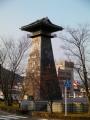 JR西舞鶴駅 「太鼓堂」時計塔