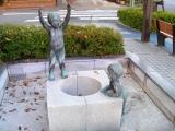 JR大垣駅 少年の銅像