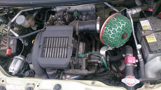 ツインターボ、エンジン