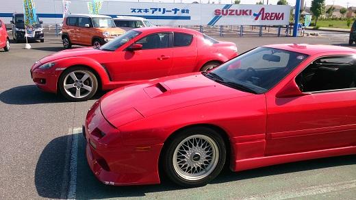 RX7とRX8