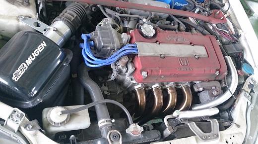 シビックタイプRエンジン