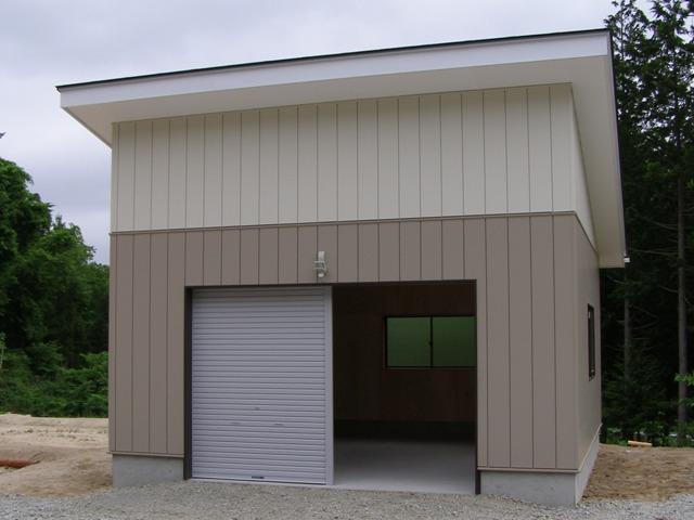 車庫完成0529