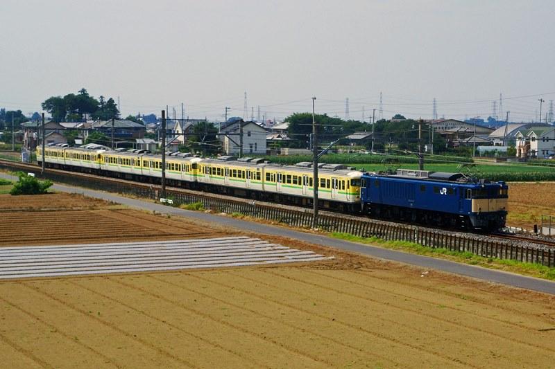 2015年7月13日 岡部~深谷にて