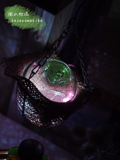 ガラスの浮き玉