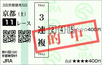 京都新聞杯_的中1