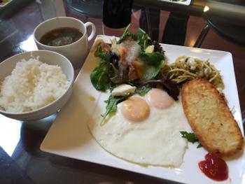めぐみさんの朝食