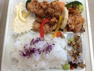 若鶏と野菜のチキン南蛮弁当2