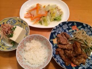 ヨシケイ夕食