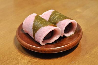 関東風桜餅