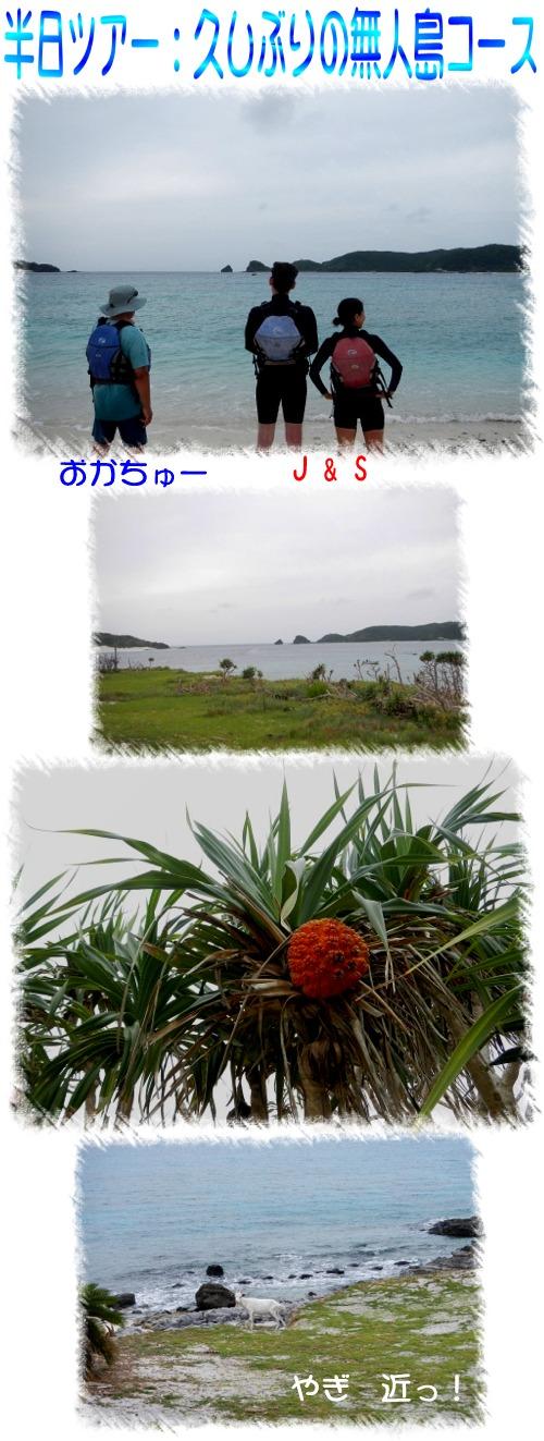 久々の無人島②