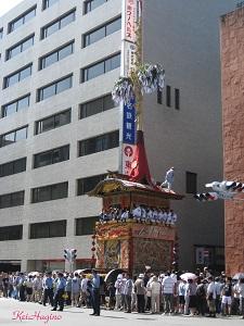 12日菊水鉾曳き初め(2009)-3