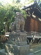 牛嶋神社 狛犬