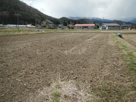 田んぼ春の耕起作業 (2)