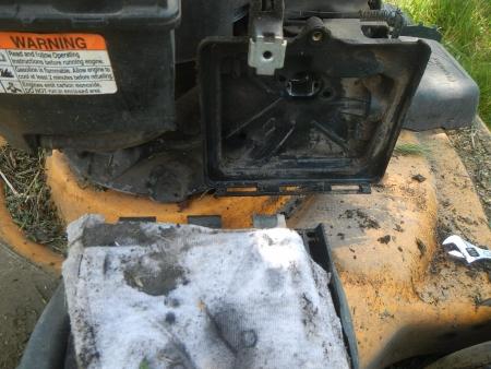 草刈機修理 (3)