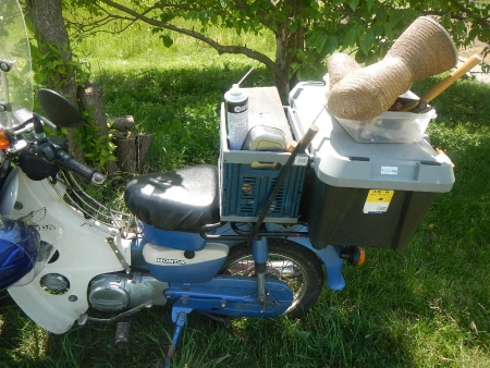 草刈機修理 (2)