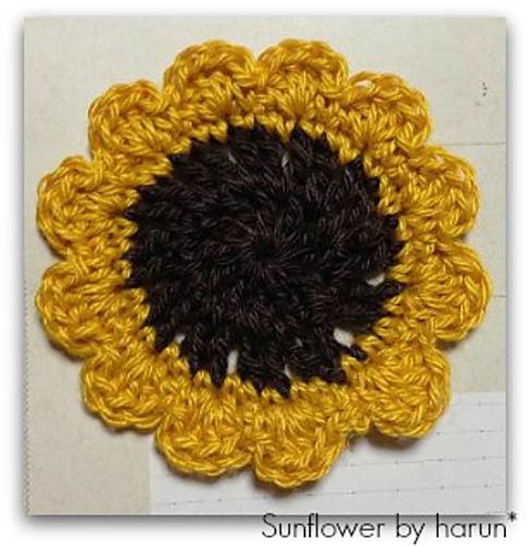 20130729 sunflower ひまわりコースター