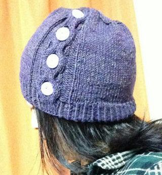 20150202 ハニカム模様の帽子