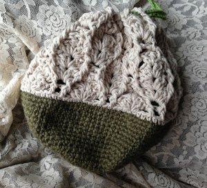 20150521 麻紐とコットン糸の巾着