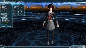 郷愁学生女制服+バルキータイツ黒