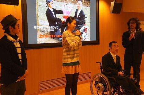 西川綾乃さん舞台挨拶