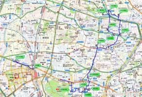神楽坂~西新宿