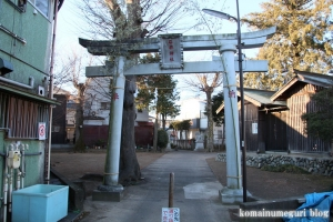 石井神社(府中市小柳町)10