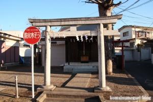 白山神社(府中市清水が丘)1
