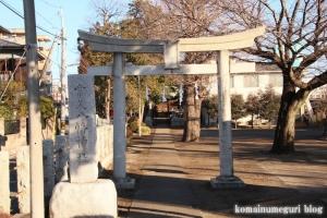 常久八幡神社(府中市若松町)1