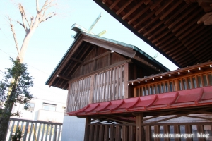八幡神社(府中市是政)10