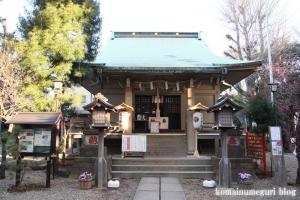 上目黒氷川神社(目黒区大橋)9