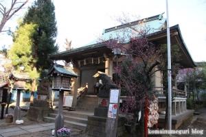 上目黒氷川神社(目黒区大橋)10