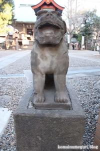 上目黒氷川神社(目黒区大橋)35