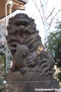 上目黒氷川神社(目黒区大橋)46