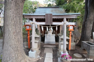 上目黒氷川神社(目黒区大橋)12