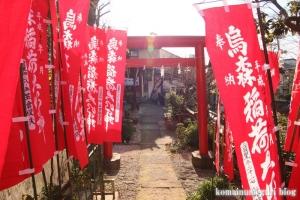 烏森神社(目黒区上目黒)2