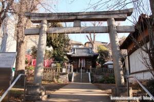 烏森神社(目黒区上目黒)5