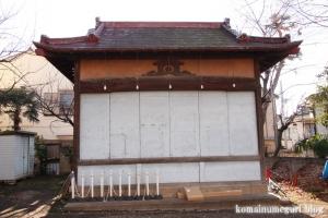 烏森神社(目黒区上目黒)15