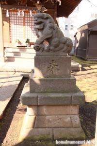 高木神社(目黒区南)10