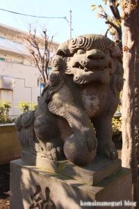 高木神社(目黒区南)15