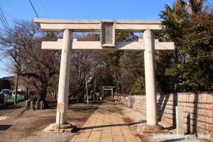 碑文谷八幡神社(目黒区碑文谷)4